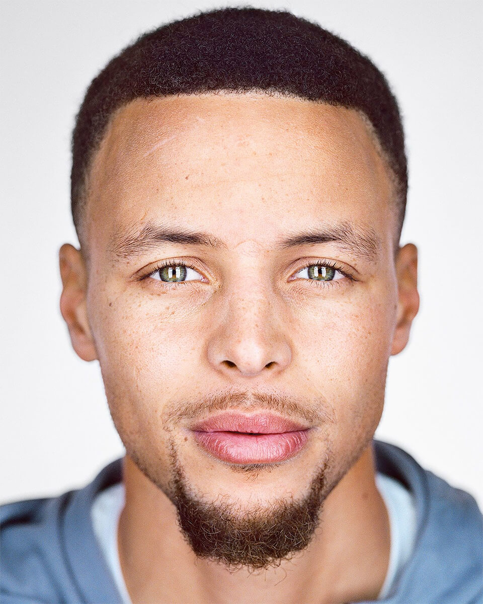 Close Up - Stephen Curry<p>© Martin Schoeller</p>