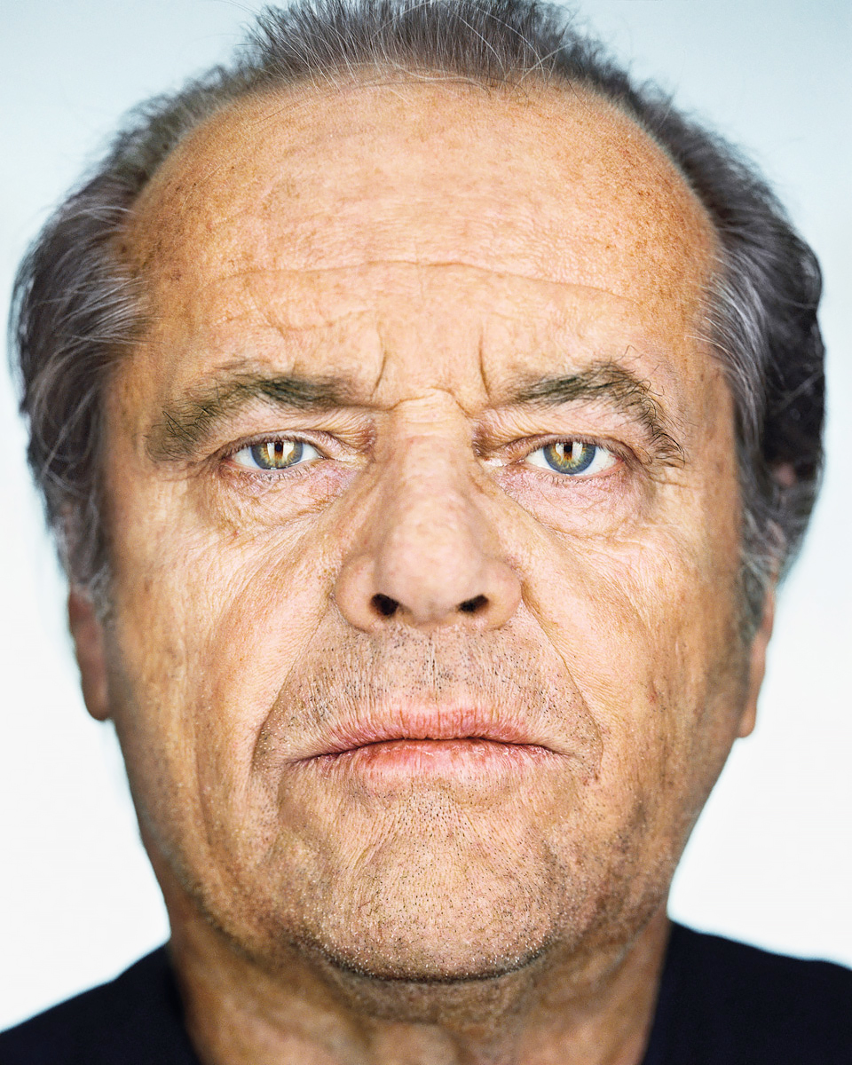 Close Up - Jack Nicholson<p>© Martin Schoeller</p>