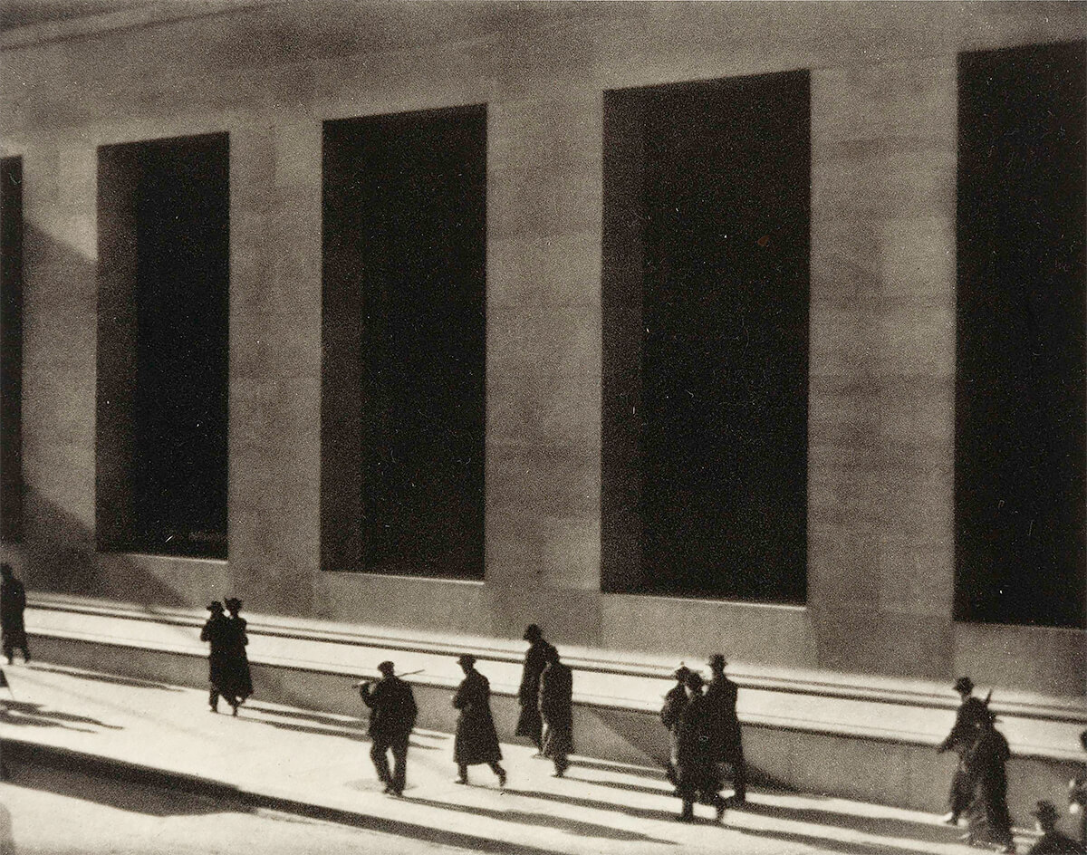 Wall Street, New York, 1915<p>Courtesy Aperture Foundation, Inc., Paul Strand Archive / © Paul Strand</p>