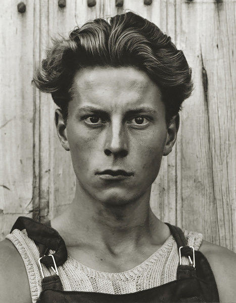 Young Boy, Gondeville, Charente, France, 1951<p>Courtesy Aperture Foundation, Inc., Paul Strand Archive / © Paul Strand</p>