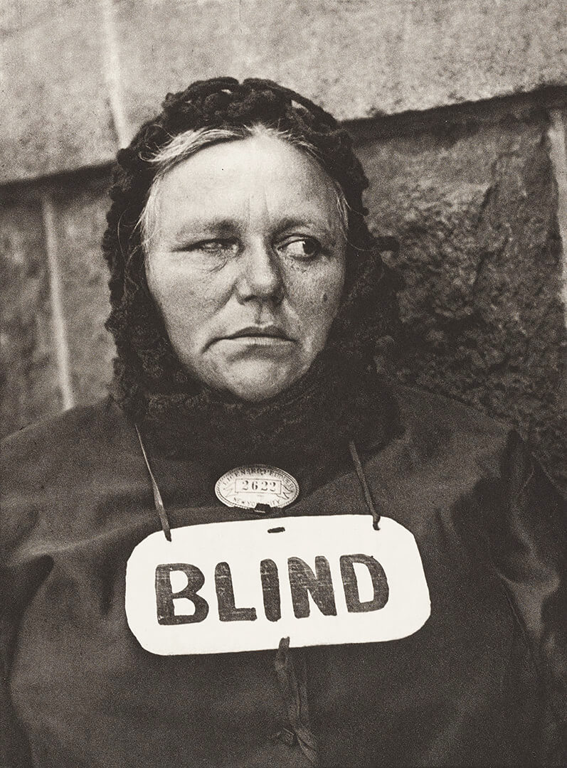 Blind Woman, New York, 1916 <p>Courtesy Aperture Foundation, Inc., Paul Strand Archive / © Paul Strand</p>