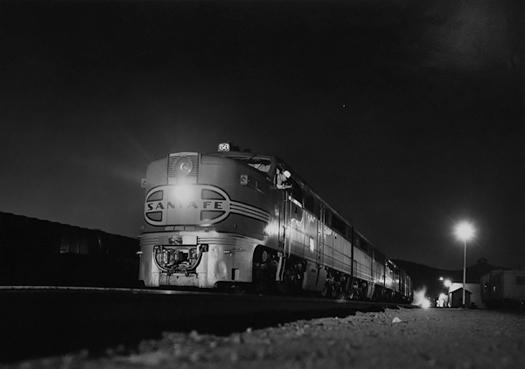 At SF Grand Canyon East Bound At Mojave, CA East Bound, 1952<p>© Richard Steinheimer</p>
