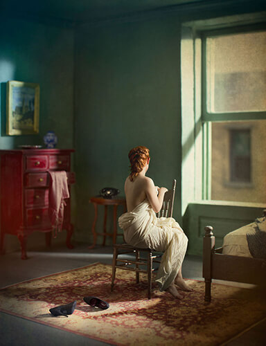 Green bedroom morning<p>© Richard Tuschman</p>