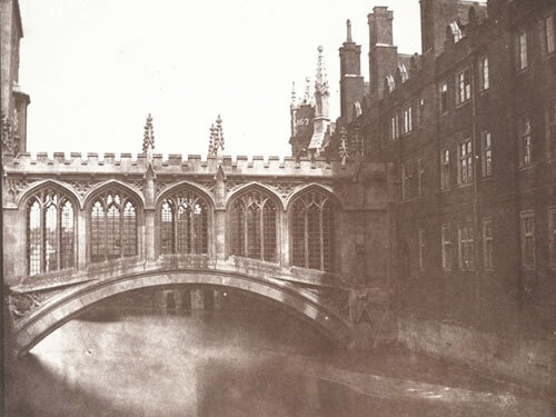 William Henry Fox Talbot - The Bridge of Sighs, St. John