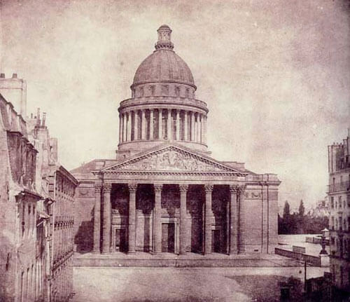 William Henry Fox Talbot - Pantheon, 1843