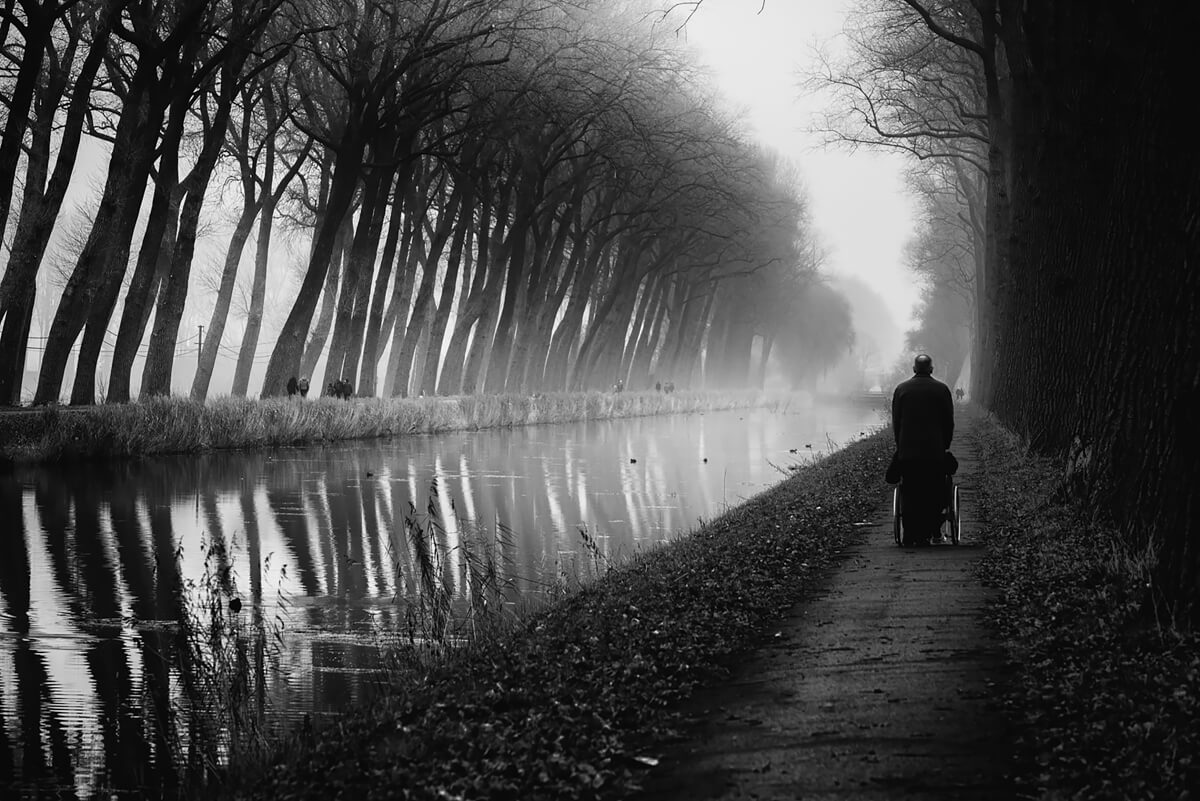 Along the canal<p>© Eddy Verloes</p>