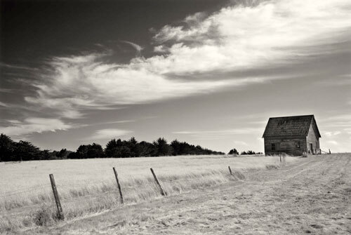 Barn and Clouds, Ca. 2007<p>© Cara Weston</p>