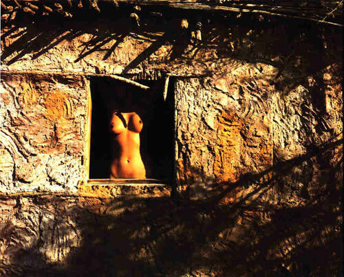 Nude in Window, Arizona 1979<p>© Cole Weston</p>