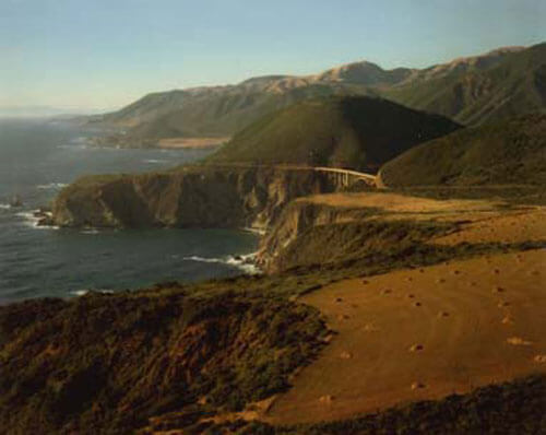 Bixby Bridge, Big Sur 1958<p>© Cole Weston</p>