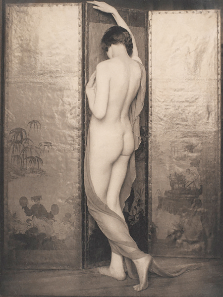 Academic Nude - Tower of Ivory, 1924<p>© Margaret Watkins</p>