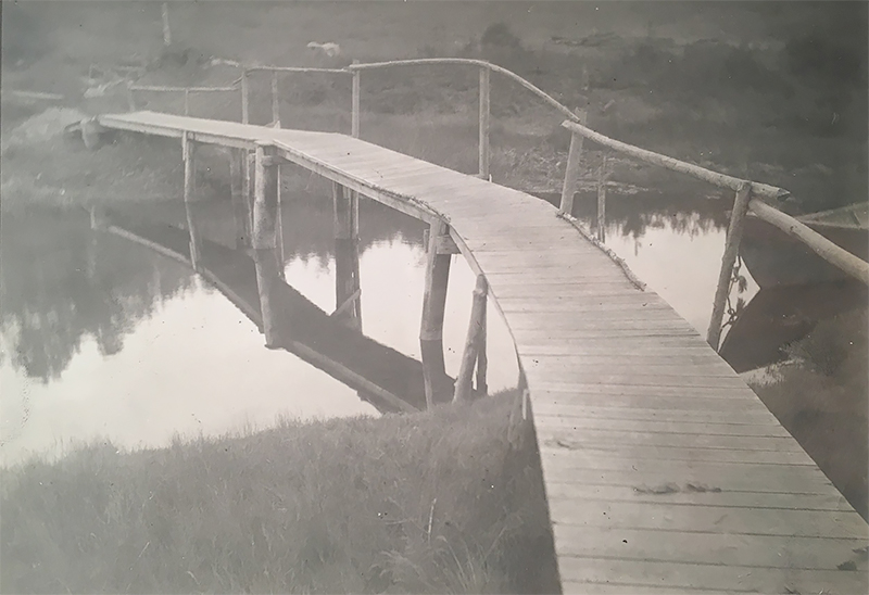 Untitled (Wooden Bridge), 1915<p>© Margaret Watkins</p>