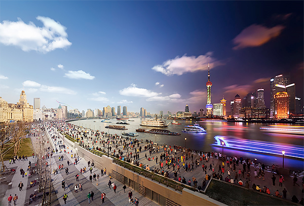 Stephen Wilkes - Day to Night, Shanghai 2012