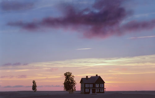 House under a red Cloud, 2005<p>© Thomas Wrede</p>