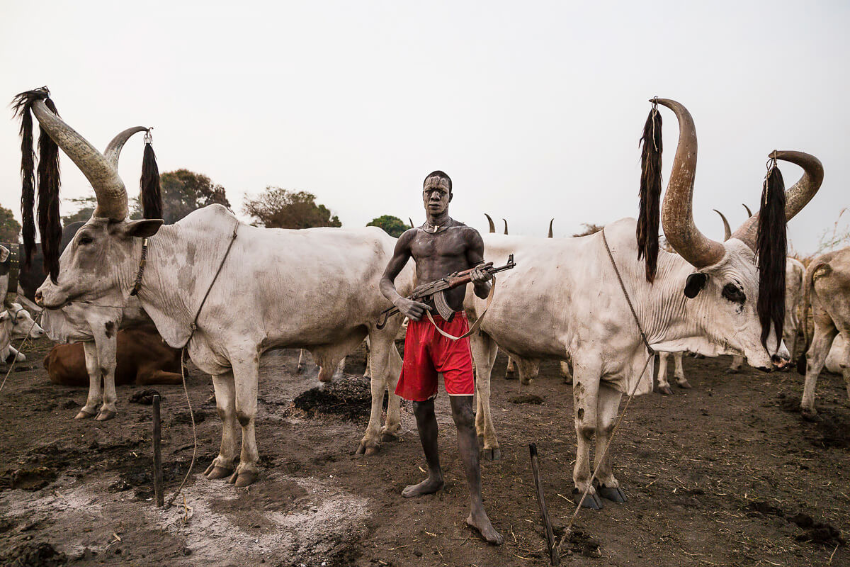 Mundari, South Sudan<p>© Tariq Zaidi</p>