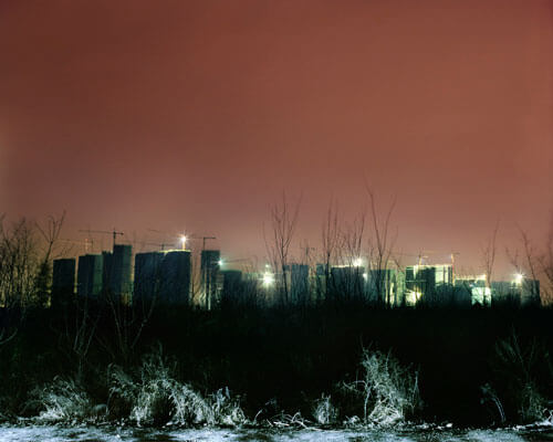City suburd in the dark<p>© Wenxin Zhang</p>