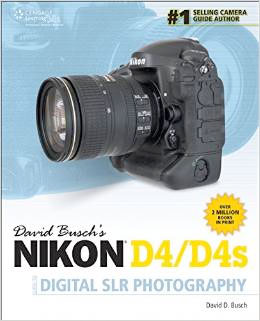 Nikon D4 Guide to Digital SLR Photography