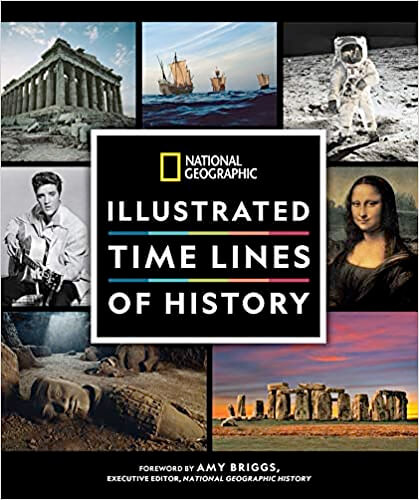 History at a Glance: Illustrated Time Lines From Prehistory to the Present Day